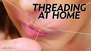 Threading at Home for Lip and Eyebrows with Ami Desai   Beauty with Susan Yara