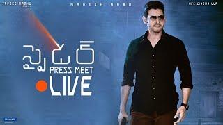 SPYDER Movie Press Meet   LIVE   Mahesh Babu   A R Murugadoss   Rakul Preet Singh   Harris Jayaraj