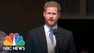 Prince Harry And Meghan Markle Make First Appearance Since Royal Wedding   NBC News