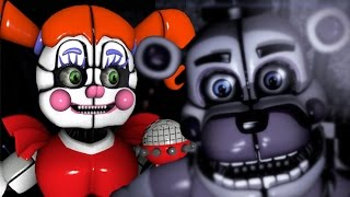 Baby and Friends React to: Sister Location Custom Night Teaser #2    THE ALMIGHTY COMMANDS YOU!!!