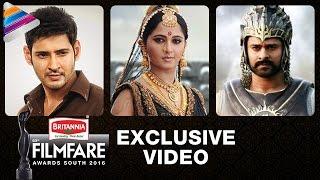63rd Filmfare Awards South 2016 Winners | Mahesh Babu | Anushka | Allu Arjun | SS Rajamouli