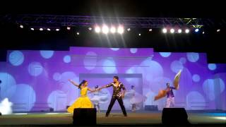 saurabh sonali choreographer perfomed in muscat festival