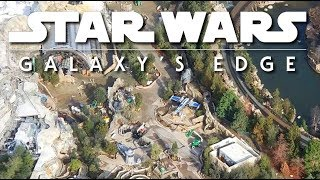 NEW Aerial views of Galaxys Edge | Freshest look so far EXCLUSIVE! 2019-02-09