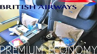 British Airways PREMIUM ECONOMY (World traveller plus) Shanghai to London|Boeing 777-300ER