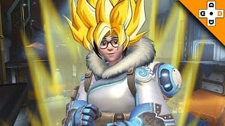 Overwatch Funny & Epic Moments 79 - MEI GOES SUPER SAIYAN! - Highlights Montage