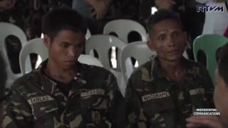 Visit to the wake of KIA CAFGU-CAA Panggong Komanod 7/29/2016