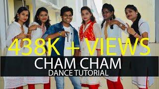 Dance Tutorial I Cham Cham | BAAGHI | Tiger Shroff, Shraddha Kapoor| Meet Bros I Priyank Dhakar