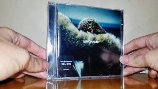 Beyoncé - Lemonade - CD + DVD (Unboxing)