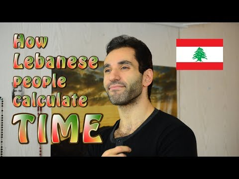 Xxx Mp4 How Lebanese People Calculate Time 3gp Sex