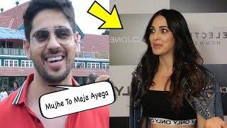Sidharth Malhotra And Kiara Advani React On Our Relationship