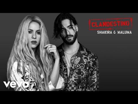 Shakira Maluma Clandestino Audio Oficial