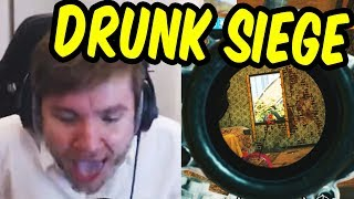 DRUNKEST I'VE EVER BEEN - Rainbow Six Siege Drinking Game Part 3