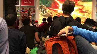 Nintendo NY -The Legend of Zelda : Breath of The Wild Crowd Reaction