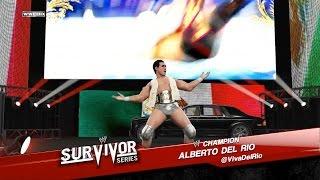 WWE 2K15 - CM Punk vs. Alberto Del Rio: Survivor Series | PS4 Gameplay
