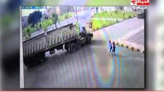 إنتبهوا أيها السادة - فيديو دهس طالبة كفر الشيخ داخل الحرم الجامعي - Entbho Ayoha Alsada
