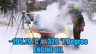Can You Use Liquid Nitrogen as an Engine Oil?