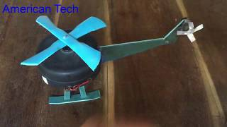 How to make a Helicopter for kids very easy