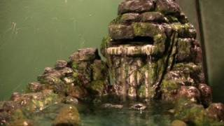 Upside Down Aquarium Aquaponics- DIY Waterfall To Aerat
