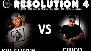 Casual Conflicts Rap Battle Da Kid Clutch vs Chico Co-Hosted by Beazt Gatlin