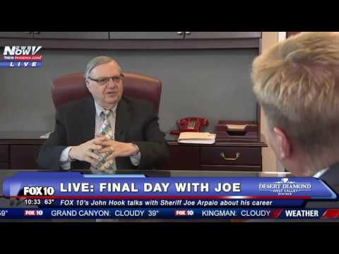 FULL FINAL Interview With Sheriff Joe Arpaio Talks Donald Trump And MORE