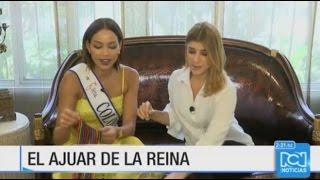 Andrea Tovar empaco sus Maletas para el Miss Universo