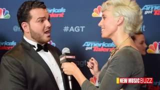 """Sal Valentinetti Talks Life after """"America's Got Talent"""" AGT Backstage"""