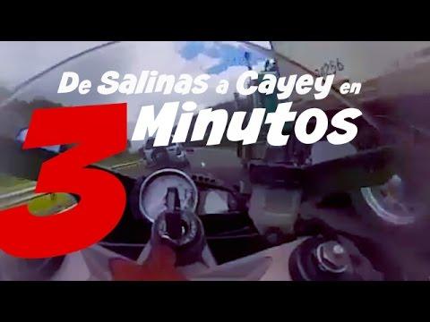 En Motora de Salinas a Cayey en 3 minutos
