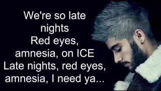 ZAYN - DRUNK (Lyrics)