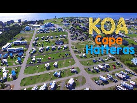 Cape Hatteras KOA Resort Tour Outer Banks NC R Pod 182G