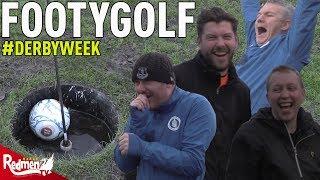 Footy Golf | ToffeeTV v RedmenTV | #DerbyWeek