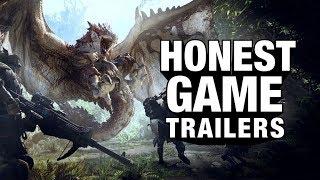 MONSTER HUNTER WORLD (Honest Game Trailers)