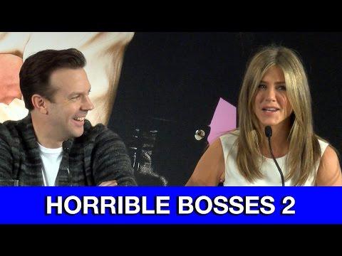 Horrible Bosses 2 Interviews Jennifer Aniston Jason Bateman Jason Sudeikis & Charlie Day