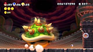 New Super Mario Bros U 100% Walkthrough Episode 22 - Finale (The Final Battle)!