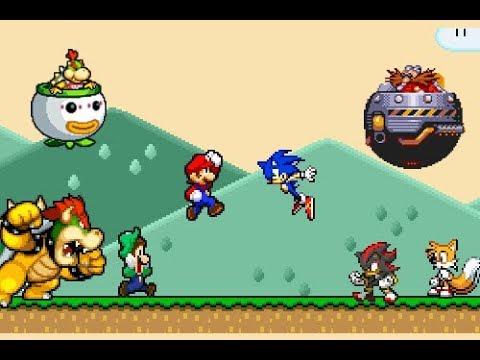 Xxx Mp4 Super Mario Vs Sonic The Hedgehog 3gp Sex