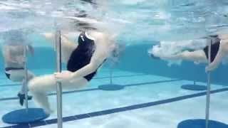 Working Out with an Aquatic Pole