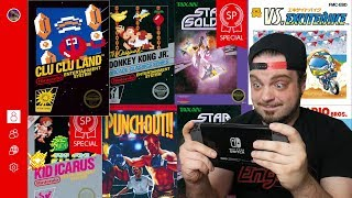NEW NES Games Online For Nintendo Switch - This Month Sucks!