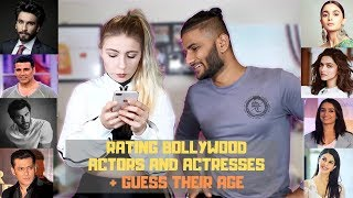 My American Girlfriend Rates Bollywood Actors and Actresses + Guess Their Age