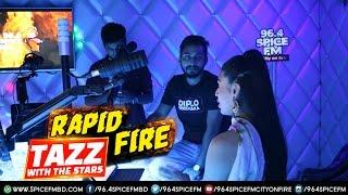 Shoumik & Shouvik Ahmed | Rapid Fire Round | Rj Tazz | Spice FM