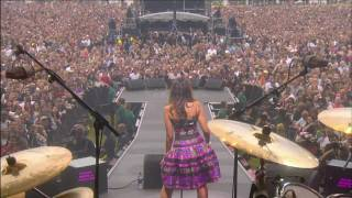 Leona Lewis - Bleeding Love (LIVE) Nelson Mandela 90th 2008 1080i HDTVRip