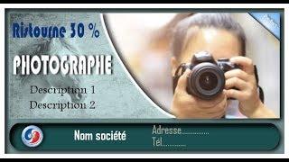 GIMP: Tuto 39 ( carte de visites )