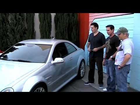 Peter North's Ferrari 430 & CLK 63 Black on CarCast With Adam Carolla and Sandy Ganz
