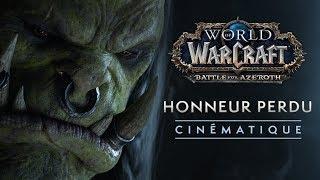 Cinématique : « Honneur perdu »
