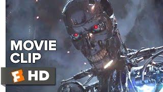 Terminator Genisys Movie CLIP - Kyle vs. T-800 (2015) - Jai Courtney Sci-Fi Action Movie HD