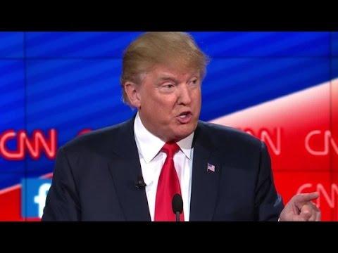 Donald Trump calls CNN debate 'unprofessional'