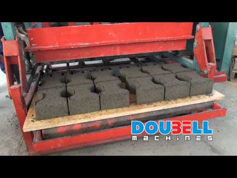 Doubell Jumbo MK3 Static Brick making Machine