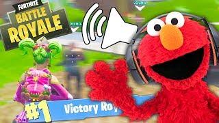 Voice Trolling On Fortnite | Elmo Voice Impressions | Baldis Basics Cameo