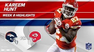 Kareem Hunt Highlights | Broncos vs. Chiefs | Wk 8 Player Highlights