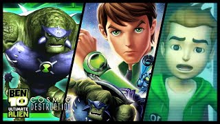 Ben 10 Cosmic Destruction Walkthrough Part 1 (PS3, X360, PS2, PSP, Wii) 100% Level 1 : Catacombs