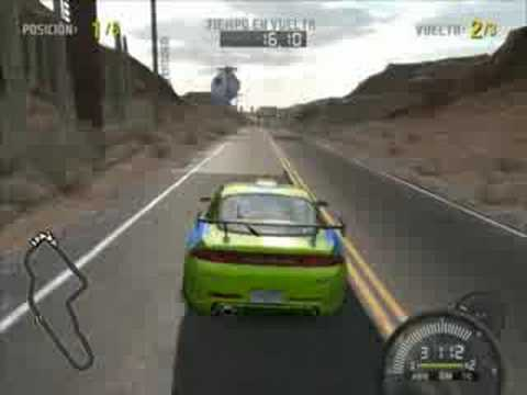FAST AND FURIOUS MITSUBISHI ECLIPSE NFS PRO STREET