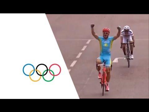 Kazakhstan's Alexandr Vinokurov Wins Men's Road